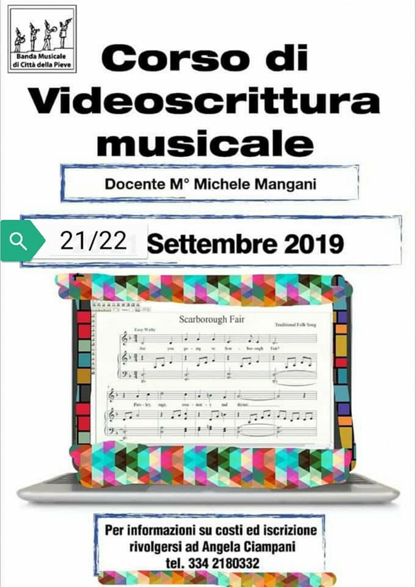 Corso di videoscrittura musicale