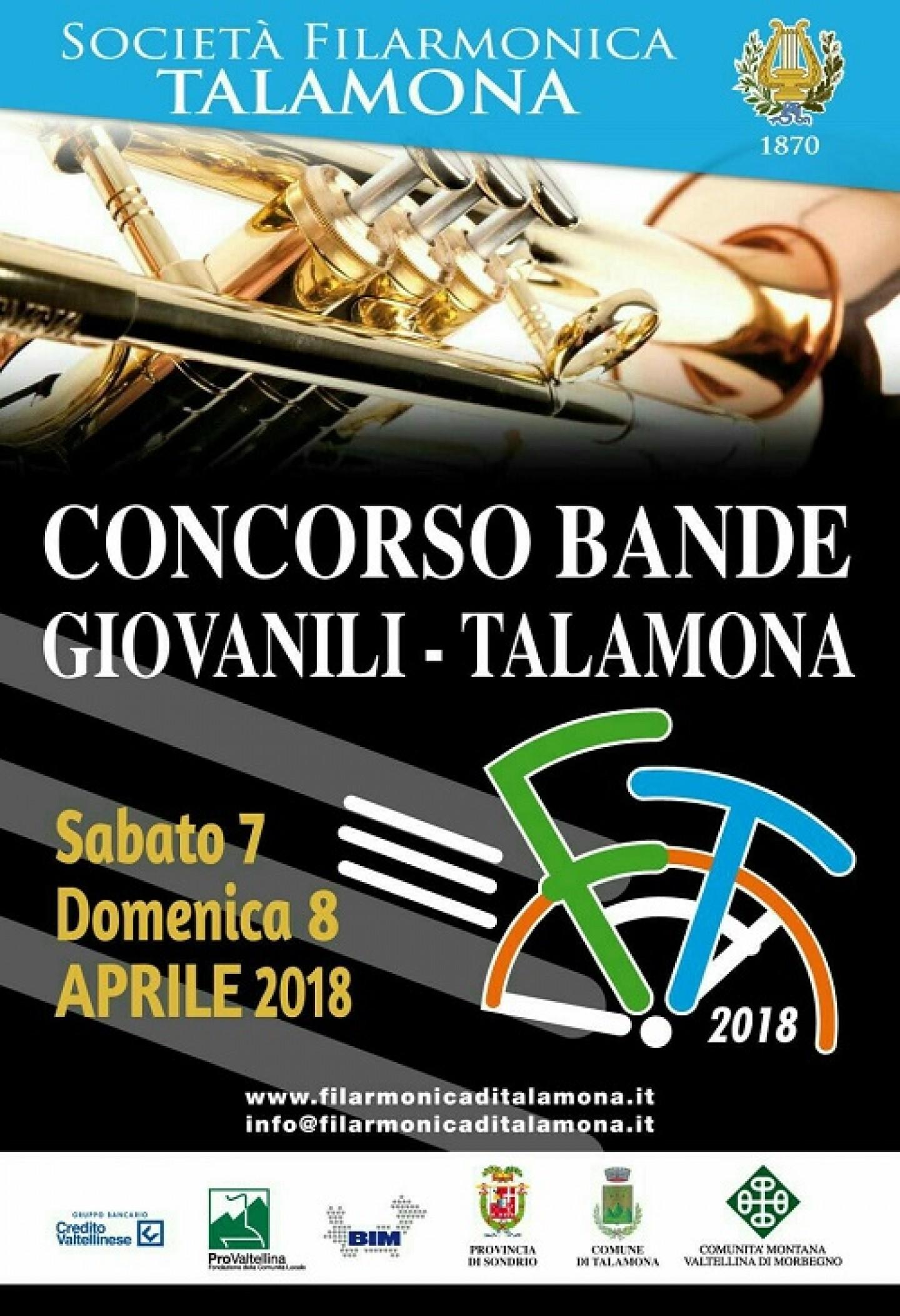 Concorso Bande Talamona 2018